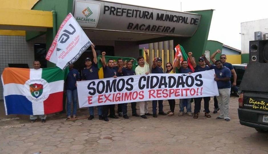 Guardas municipais de Bacabeira deflagram greve por tempo indeterminado