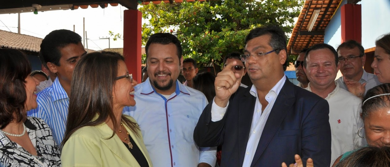 Flávio Dino e Sebastião Madeira trabalham pela eleição de um 'poste' em Imperatriz