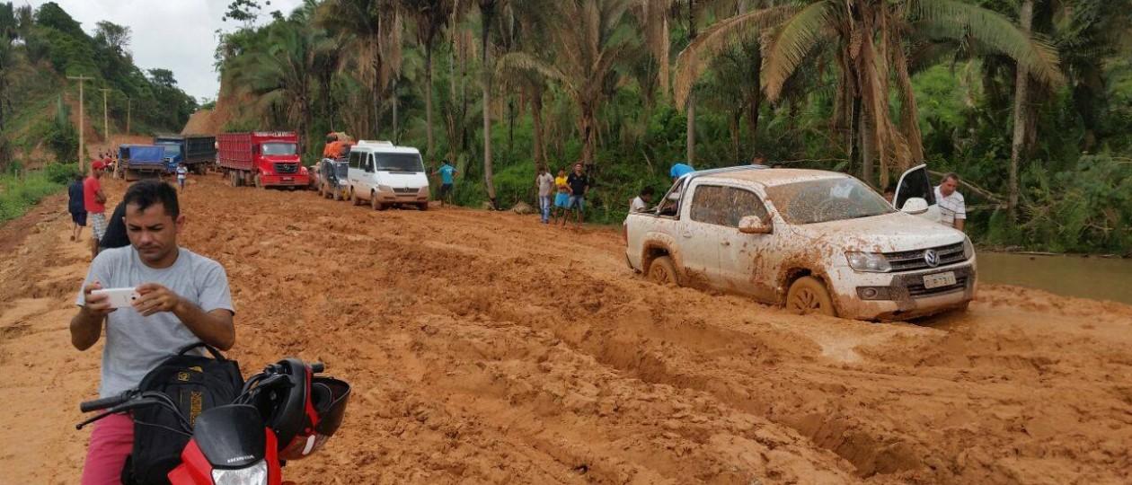 Abandono da MA-245 impede caminhão do Mais IDH de chegar a Lagoa Grande