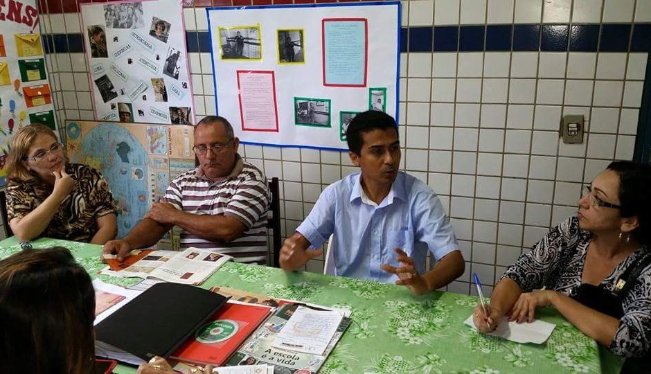 Professor Marco Aurélio busca melhorias para escolas da Região Tocantina