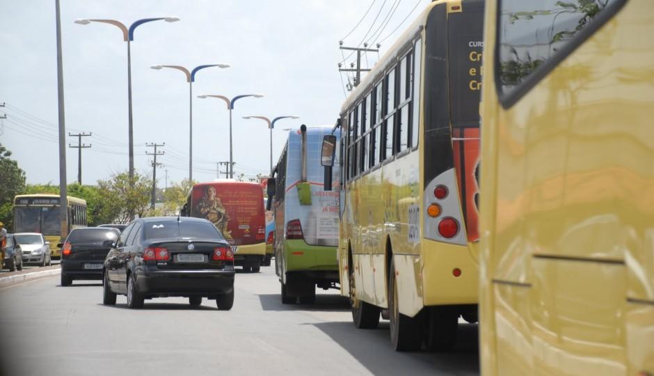 Duzentos e dez ônibus foram assaltados em São Luís de janeiro e maio deste ano