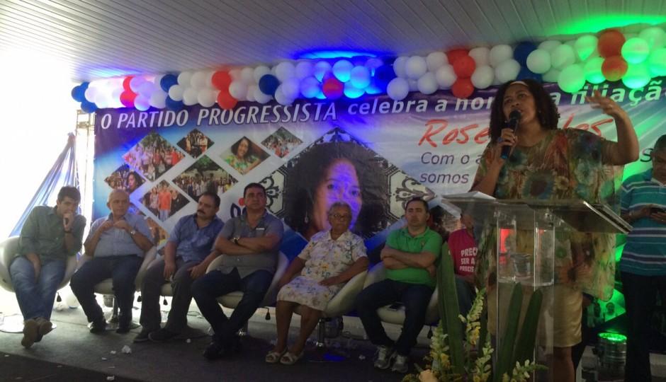 Rose Sales se une a Waldir Maranhão para disputar a Prefeitura de São Luís