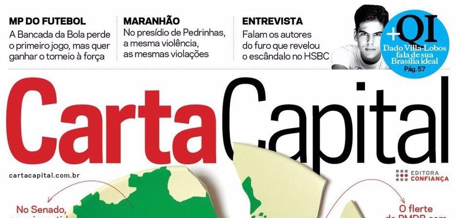 Carta Capital confirma caos em Pedrinhas e contratos de Dino com sócio de Jorginho