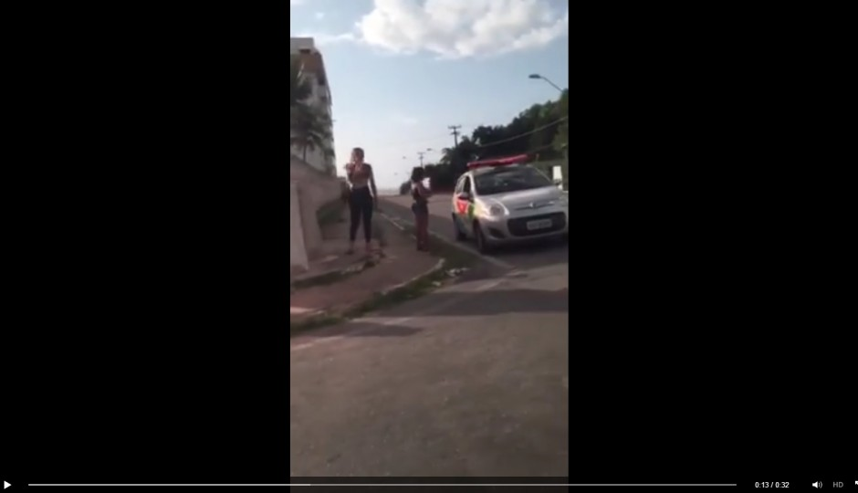 Vídeo: Agentes da SMTT e da Polícia Militar do MA são flagrados com prostitutas