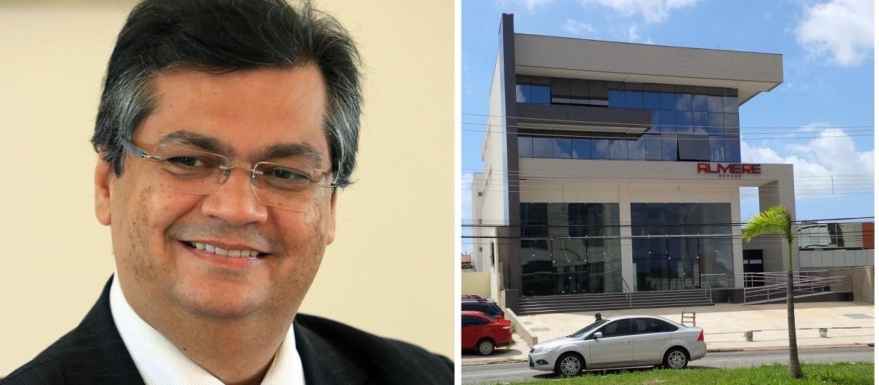 Flávio Dino paga R$ 135 mil em aluguel de Vigilância Sanitária fantasma no Calhau