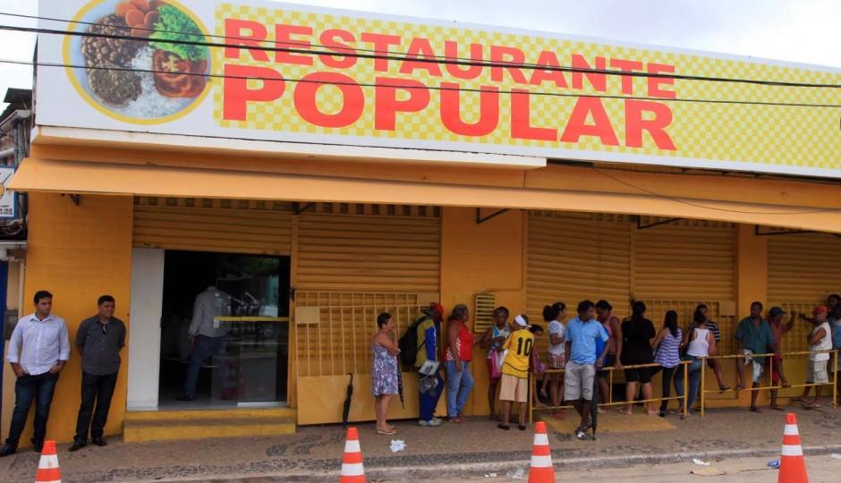 Falta de segurança nos Restaurantes Populares preocupa funcionários e usuários