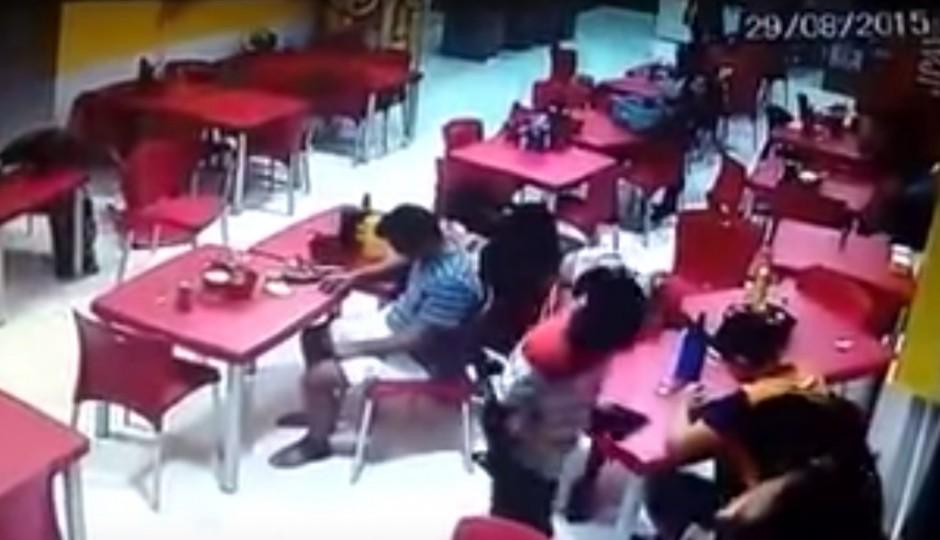 Vídeo: Assaltantes promovem minutos de terror em ação no Vinhais