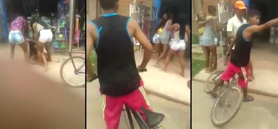 """""""Ela é 40"""", diz membro de facção em espancamento de menor em São Luís"""