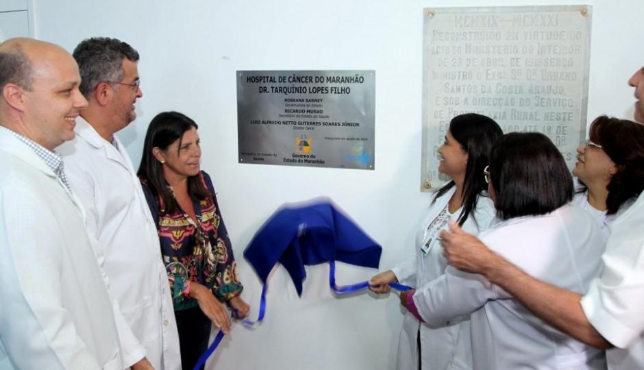 Trabalho de Murad, Hospital de Câncer do MA comemora um ano de funcionamento