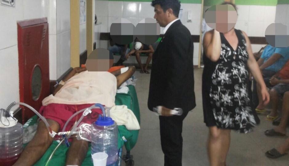 Vídeo: Wellington flagra hospital tomado por baratas em visita ao Socorrão de Imperatriz