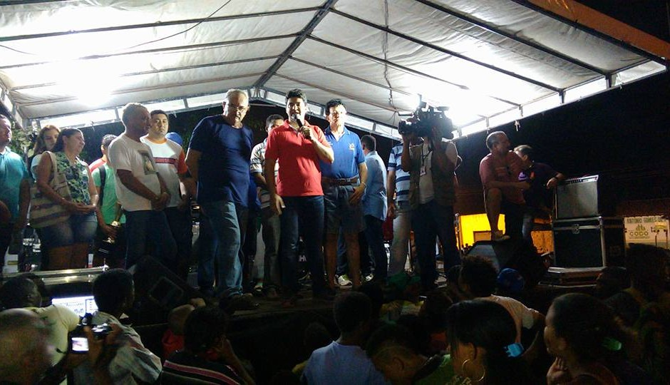 Francisco Nagib e César Pires reúnem multidão na Zona Rural de Codó