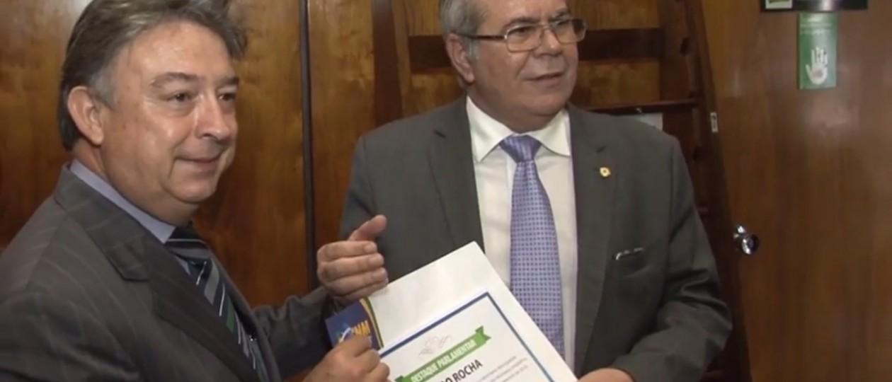 Confederação Nacional de Municípios reconhece atuação de Hildo Rocha