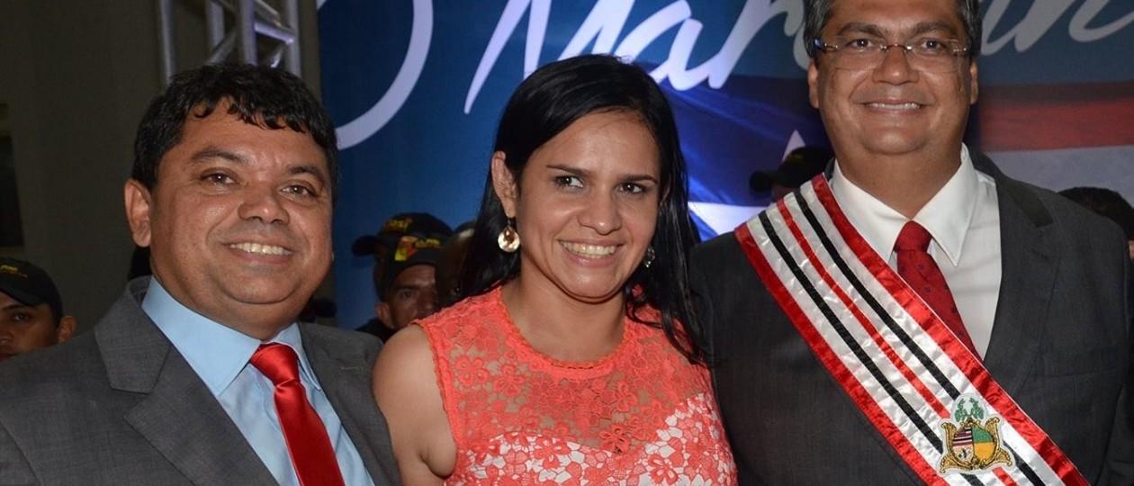 """""""Essa que é a mulher do dinheiro"""", diz Flávio Dino sobre namorada de Jerry em Açailândia"""