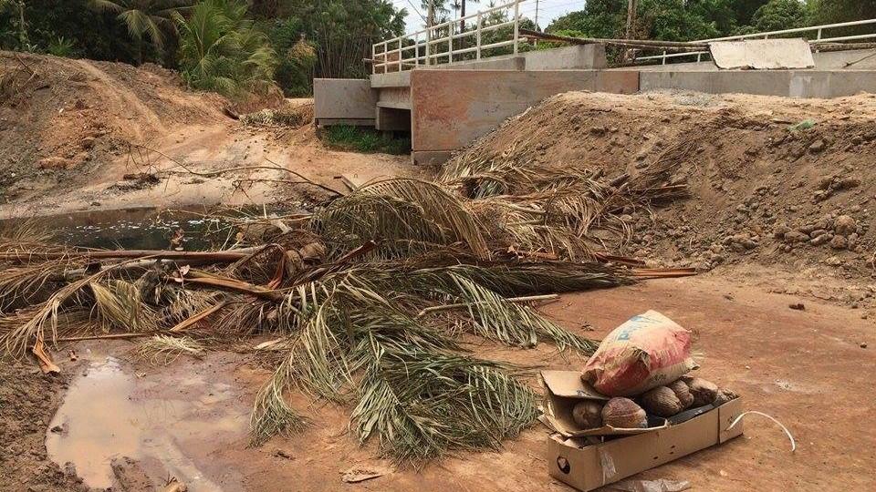 Governo Flávio Dino também abandona obras de construção da Ponte Pai Inácio