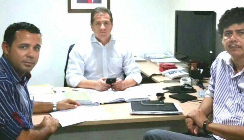 Sininger Vidal se reúne com Simplício para discutir Parque Industrial de Açailândia