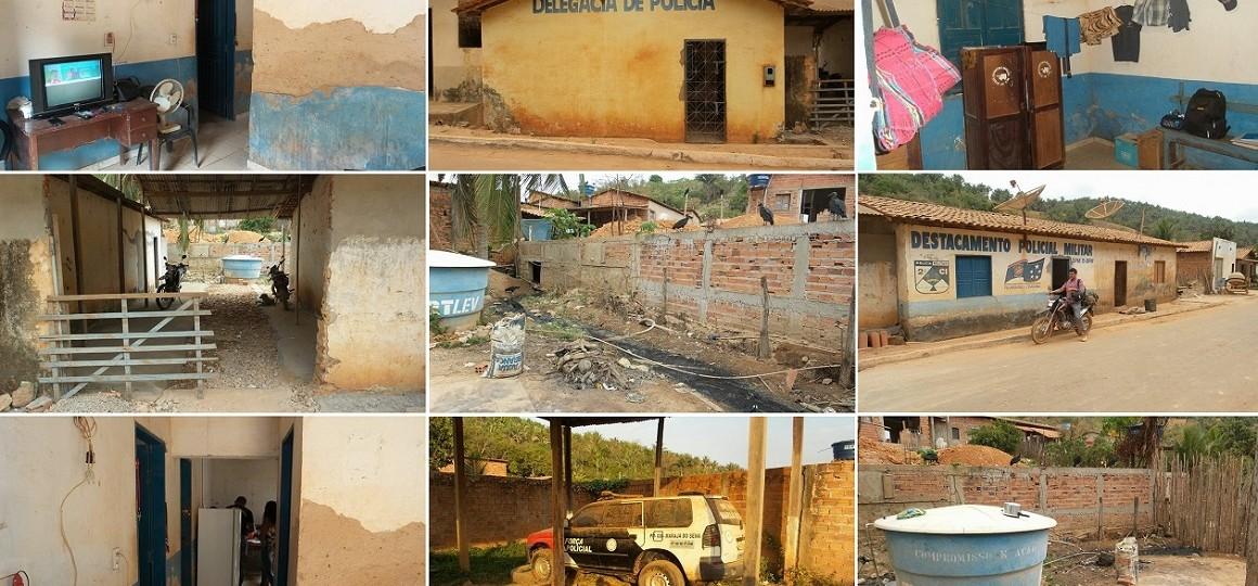 Polícia também é abandonada num nos municípios mais pobres do Brasil