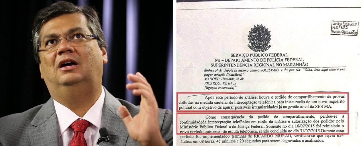 PF pediu compartilhamento de provas para abrir inquérito contra o governo Dino