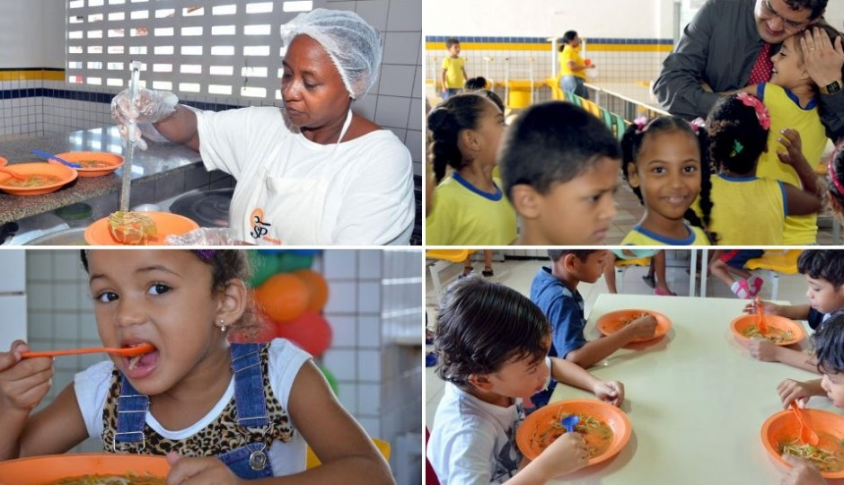 Prefeitura garante merenda escolar e aumenta volume de frutas