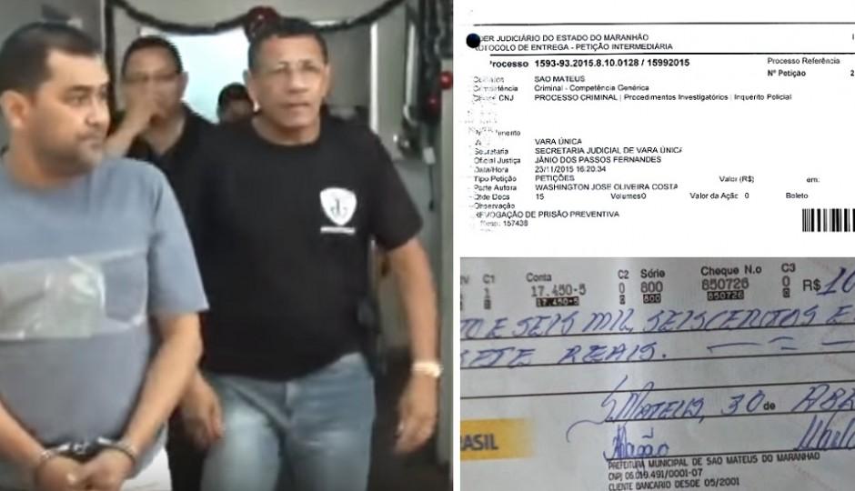 Máfia da Agiotagem: Solicitada revogação de prisão de ex-tesoureiro de São Mateus
