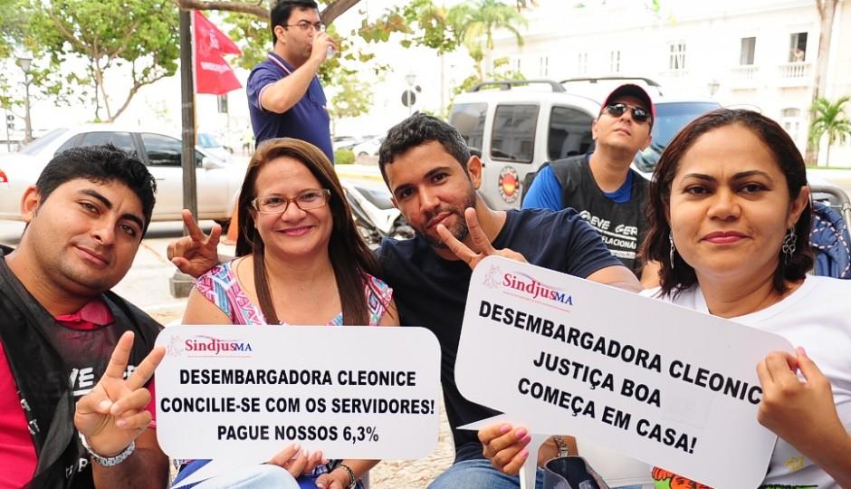 """Servidores em greve distribuirão """"Sopão da Conciliação"""" em frente ao TJ-MA"""