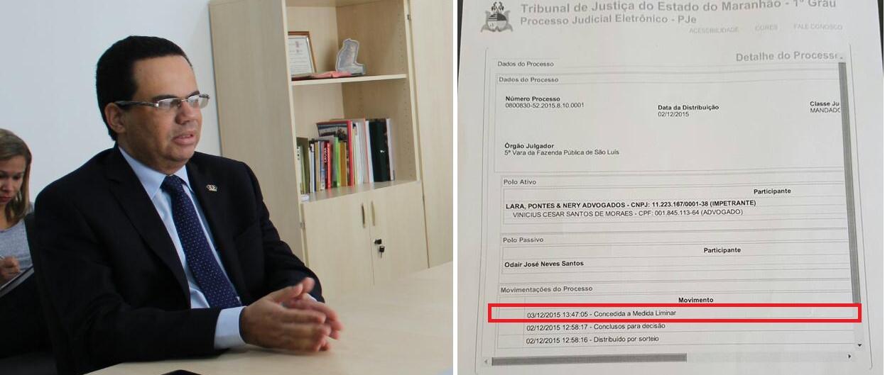 Justiça suspende licitação do Detran-MA para contratação de escritório de advocacia