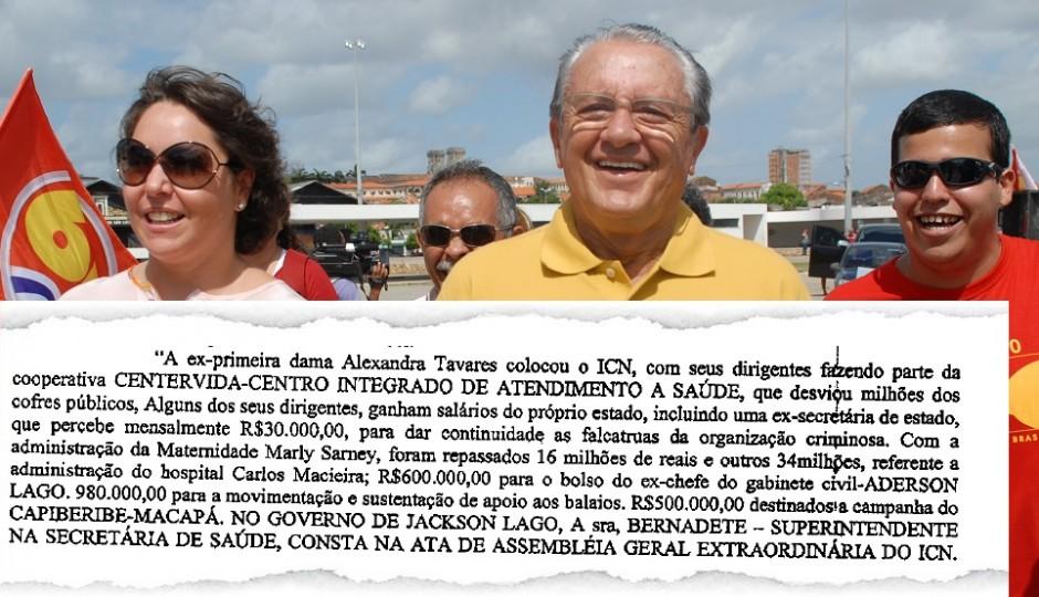 Polícia Federal apontou favorecimento do ICN à ex-mulher de Zé Reinaldo