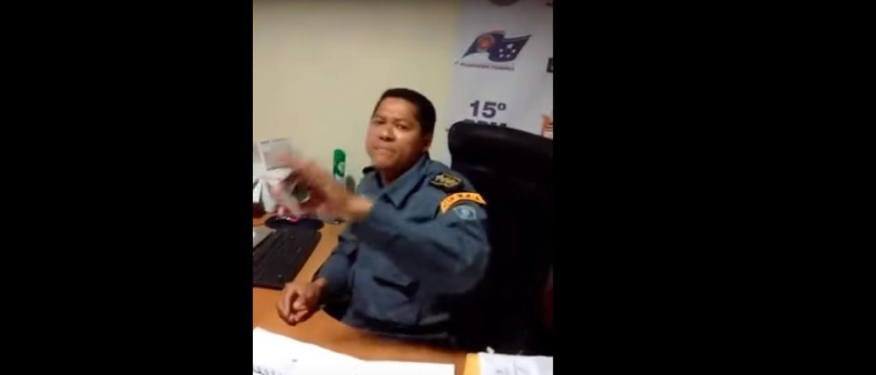 Comandante do 15º BPM de Bacabal é detido após sacar arma contra cabo e advogado