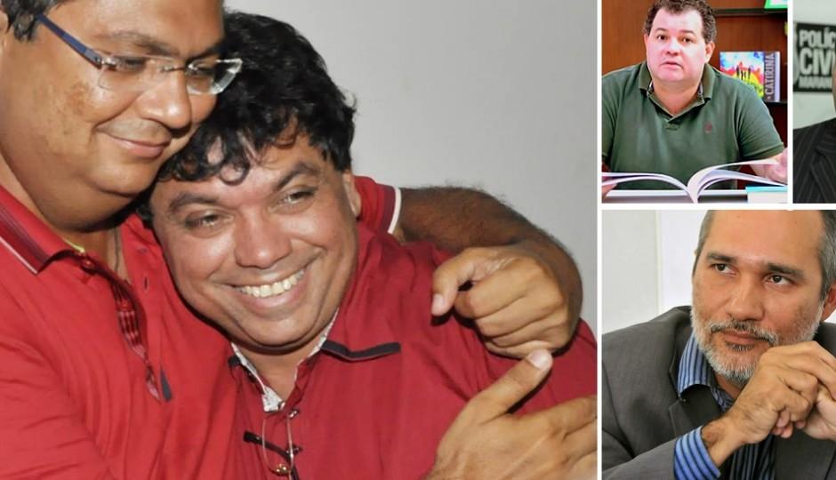 Flávio Dino e Márcio Jerry achacam Antônio Pedrosa, Wagner Cabral e Sebastião Uchôa