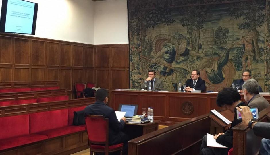 Marlon Reis obtém nota máxima em tese de doutorado apresentada na Espanha