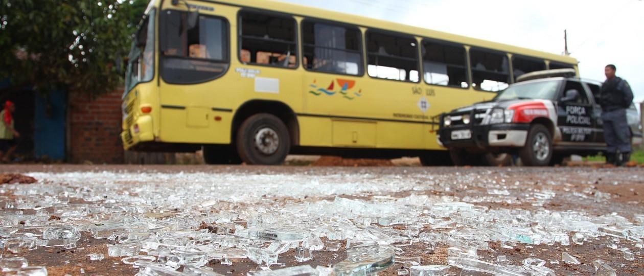 Grande São Luís: Assaltos a ônibus em janeiro superam números de 2015 e 2014
