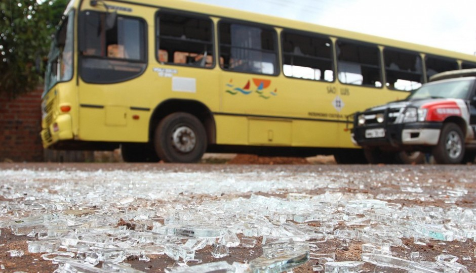 Assaltos a ônibus na capital superam estatísticas de anos anteriores