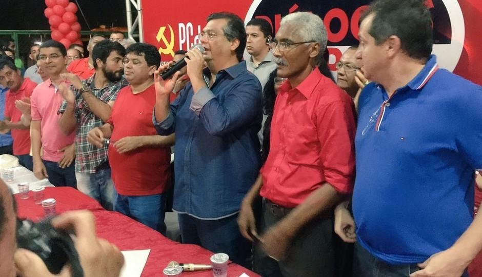 Flávio Dino insinua que ações do governo só chegarão a Paço se Dutra for prefeito