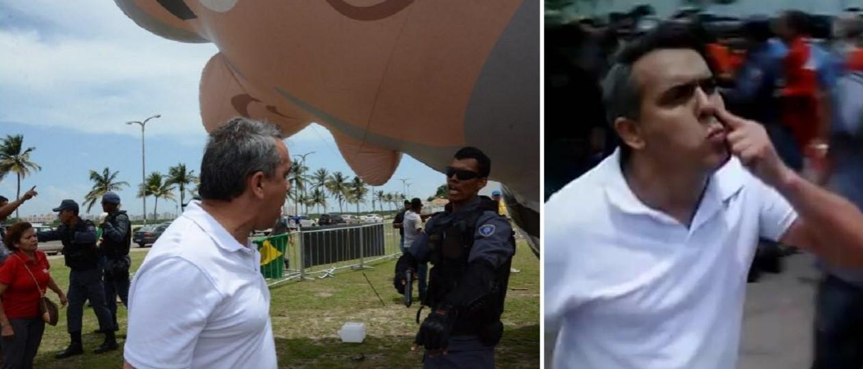 Pixuleco: Petistas que agiram como vândalos podem pegar até dois anos de cadeia