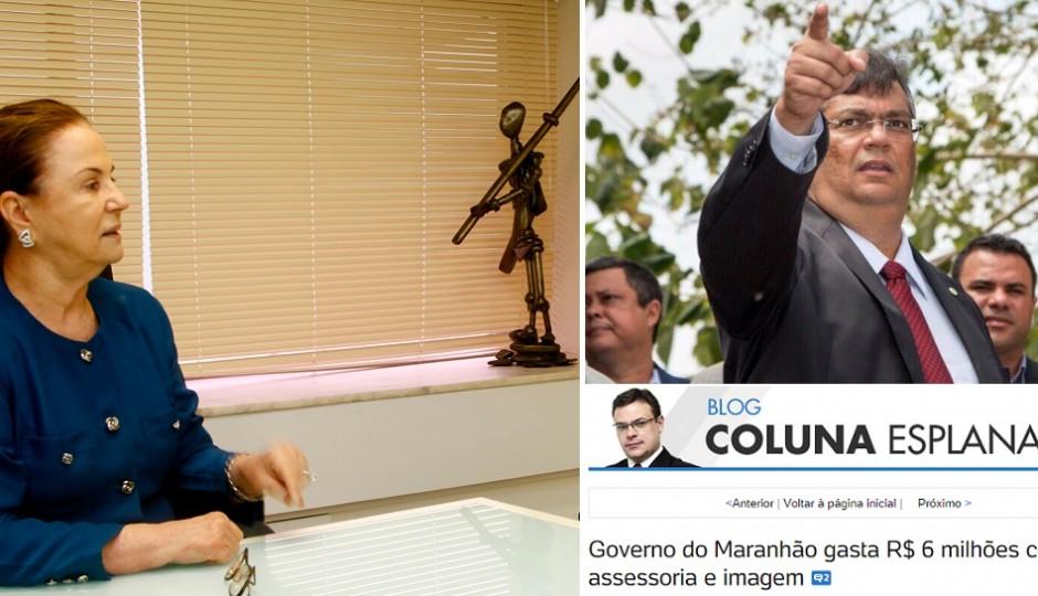 Conivência do MP-MA com Flávio Dino chama a atenção da imprensa nacional