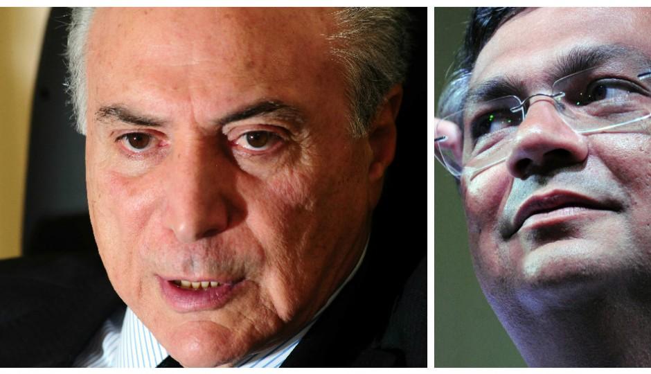 Michel Temer deve excluir Flávio Dino de ações do governo