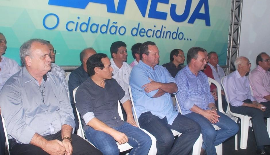Brandão e Luis Fernando abrem o seminário Planeja em Ribamar