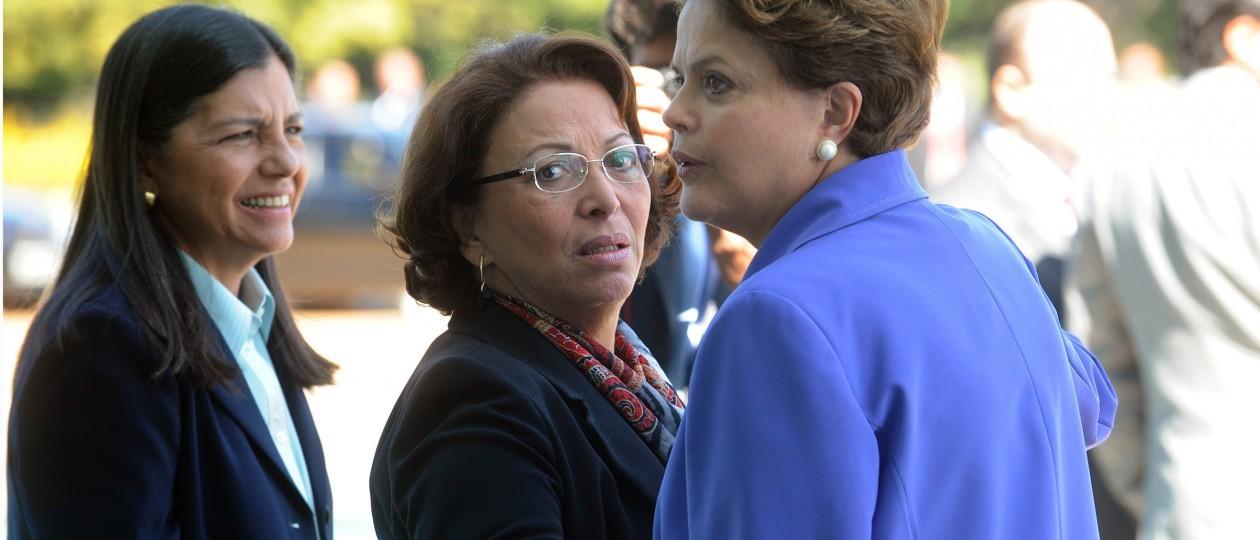 """Roseana demonstra mágoa com Dilma: """"Ela escolheu o seu lado"""""""