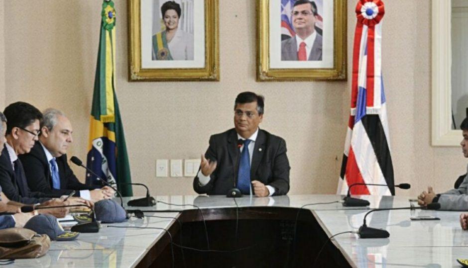 """""""Fruto da situação social dos bairros mais pobres"""", diz Flávio Dino sobre ataques"""