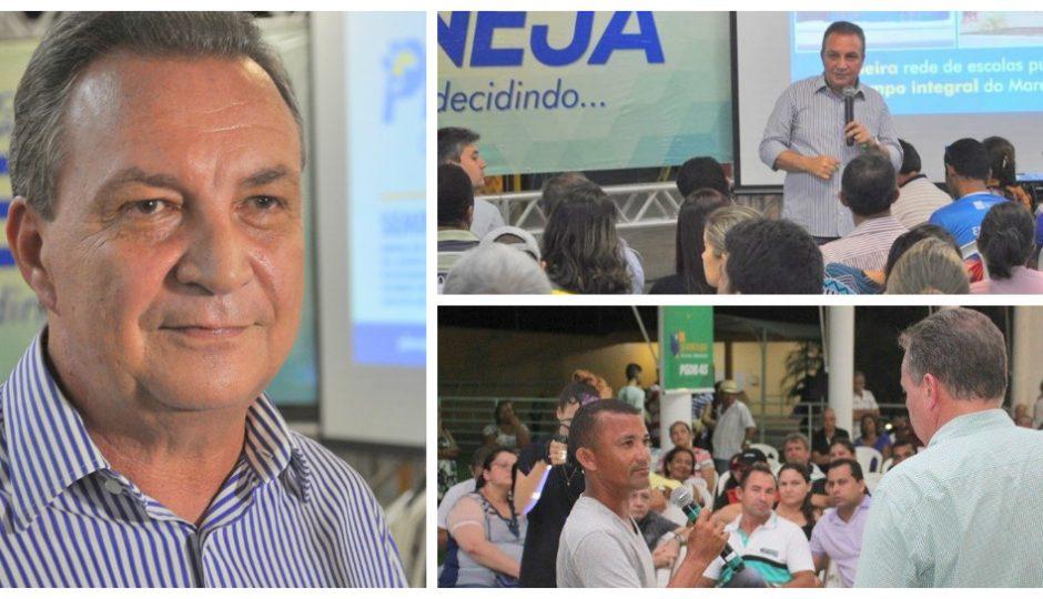 Luis Fernando encerra bateria do Planeja Territorial
