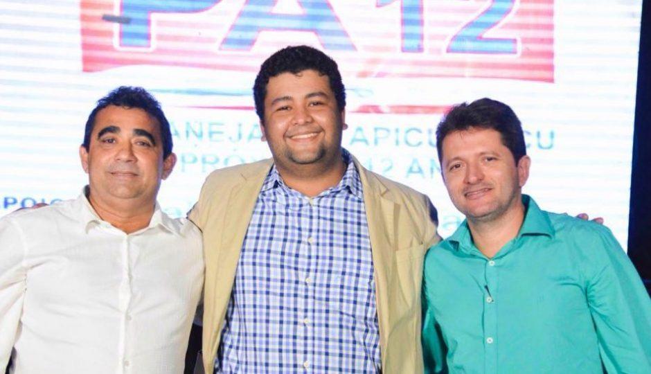 Apicum-Açu: Osvaldo Saboia e Werly Monteiro lançam o PA-12