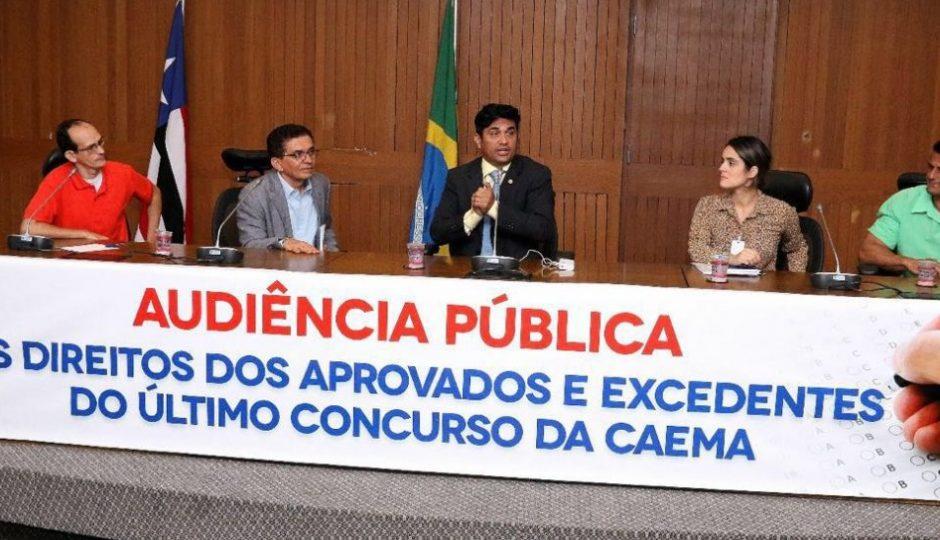 Wellington cobra a convocação dos aprovados no concurso da Caema