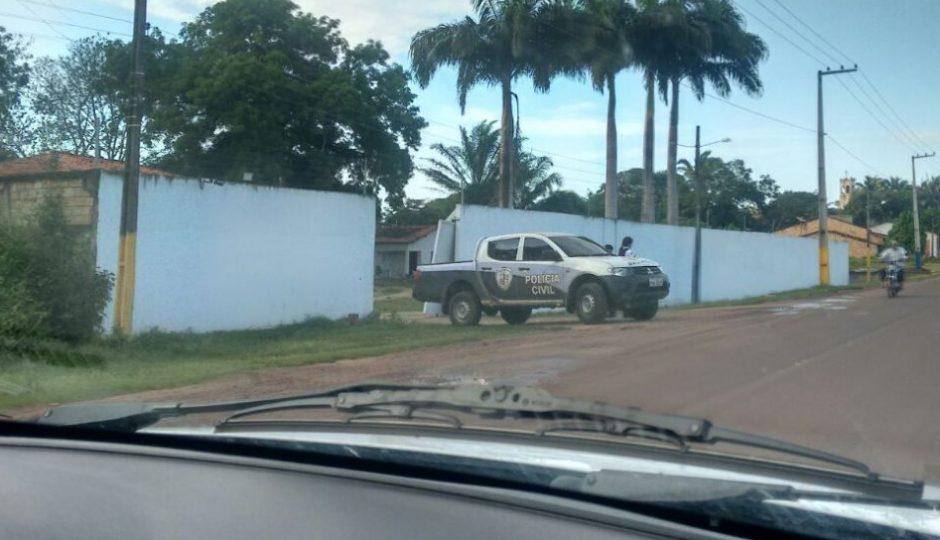 Polícia Civil realiza operação na casa do ex-prefeito Domingos Curió
