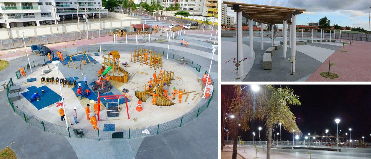 Praça da Lagoa da Jansen será inaugurada neste sábado