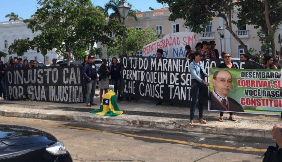 Lourival Serejo é alvo de protestos após derrubar decisão do STJ