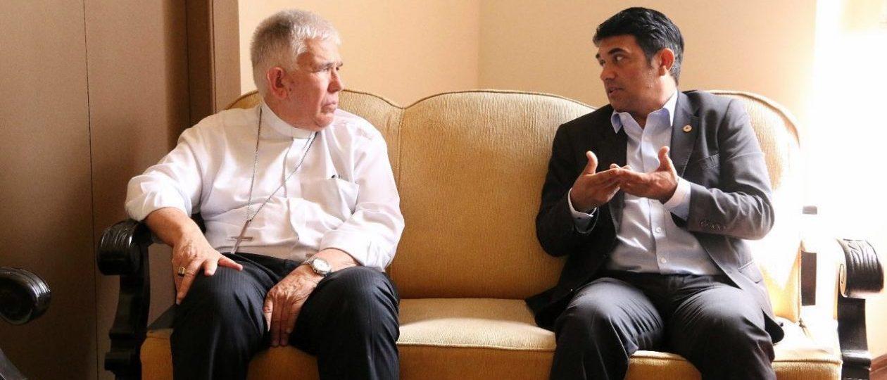 Wellington recebe sugestões para Plano de Governo em visita ao Arcebispo Dom Belisário