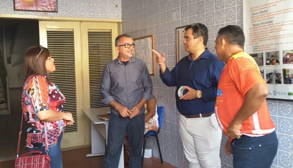 Aníbal Lins propõe pacto pelas crianças e portadores de HIV em São Luís