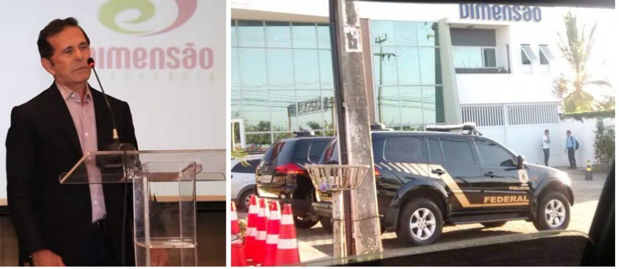 PF prende Barbosa da Dimensão Engenharia e auditores fiscais da Receita Federal