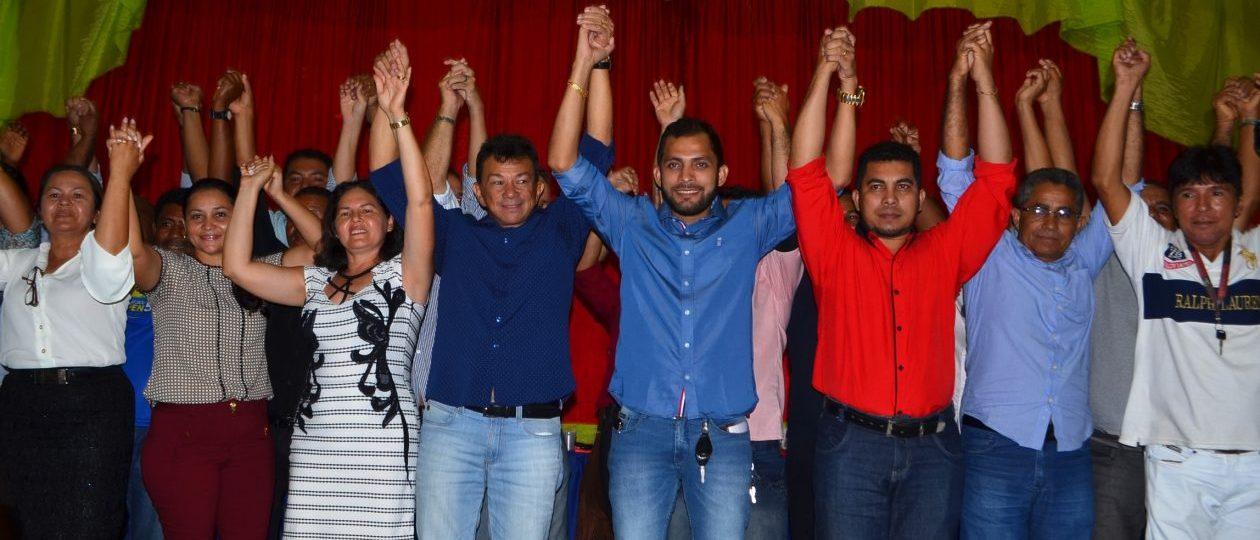 Mazinho Leite é aclamado por 11 partidos como candidato a reeleição
