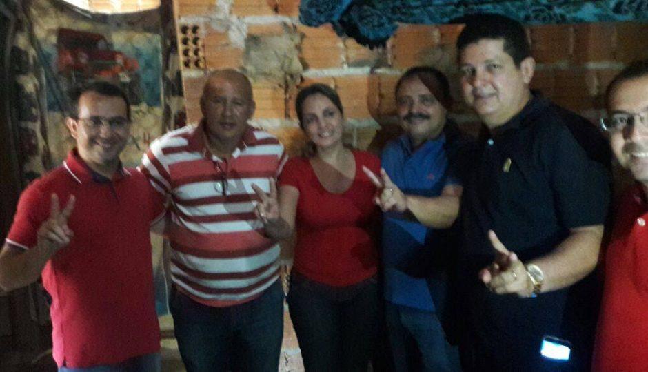 Waldir Maranhão apoia e faz campanha para propineira em Grajaú