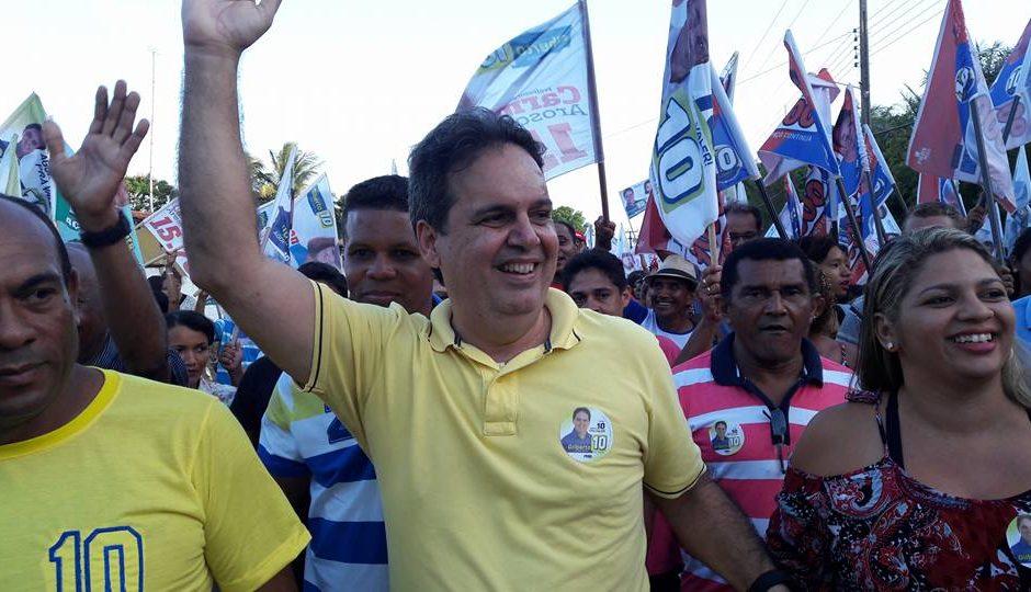 Gilberto Aroso lidera preferência do eleitorado e é o menos rejeitado em Paço, diz Escutec